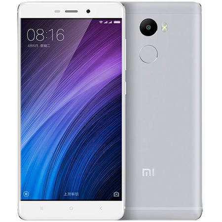 Smartphone Xiaomi Redmi 4 16GB Dual Sim 4G White Silver