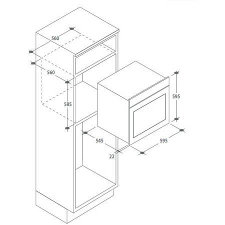Cuptor electric Candy FPE 609A/6X 65 litri A+ Inox