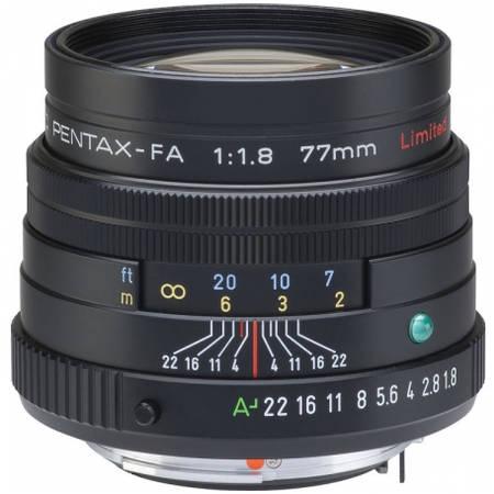 Obiectiv Pentax FA 77mm f/1.8 SMC Limited
