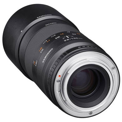 Obiectiv Samyang 100mm f/2.8 Macro 1:1 pentru Nikon