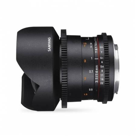 Obiectiv Samyang 14mm T3.1 VDSLR ED AS IF UMC II pentru Olympus 4/3