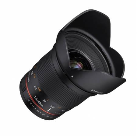 Obiectiv Samyang 20mm f1.8 ED AS UMC pentru Canon