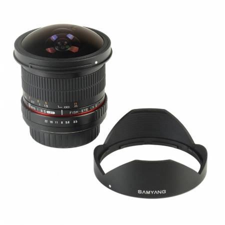 Obiectiv Samyang 8mm f/3.5 CSII pentru Sony