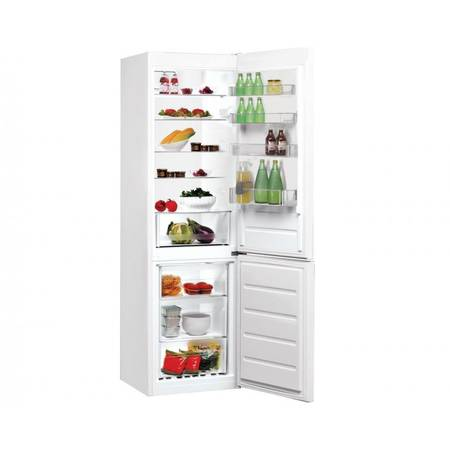 Combina frigorifica Indesit LR9 S1Q F W 368 litri  Clasa A+  Alba