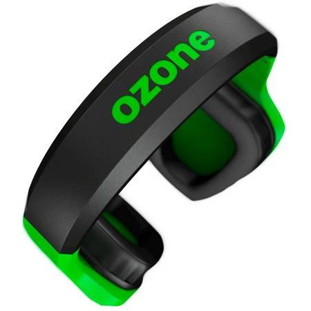 Casti gaming Ozone Rage Z50 Glow Green