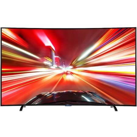 Televizor Thomson LED 65UA8796 Curbat 4K UHD 3D Activ 165cm Wireless Black