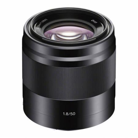 Obiectiv 50mm f/1.8 OSS Black montura Sony E