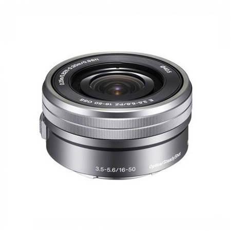 Obiectiv SEL16-50mm f/3.5-5.6 OSS Silver montura Sony E