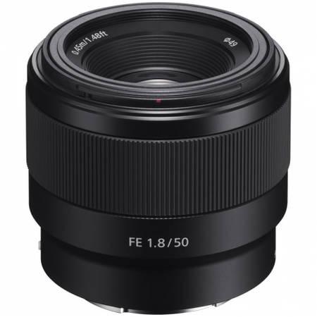 Obiectiv FE 50mm f/1.8 montura Sony E