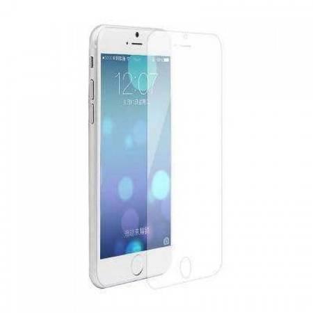 Folie protectie Tempered Glass - folie sticla pentru iPhone 6 Plus - alb