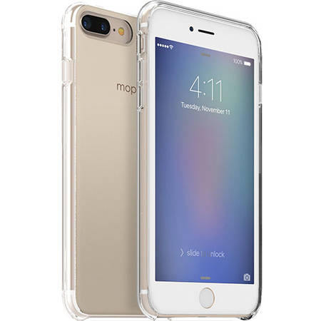 Husa Protectie Spate Mophie 3701_BC-GRD-IP7P-GLD Base Case Gradient Ultra Thin Auriu pentru Apple iPhone 7 Plus