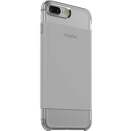 Husa Protectie Spate Mophie 3698_BC-WRP-IP7P-STN Base Case Ultra Thin Gri pentru Apple iPhone 7 Plus