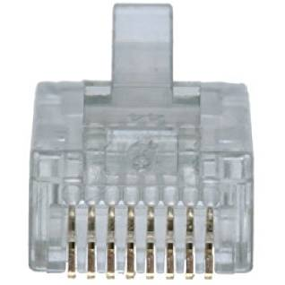 conectica DBX DigitalBox START.LAN RJ-45 plug cat. 5e for solid cable 100pcs