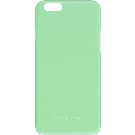 Husa Protectie Spate Happy Plugs 9015 Ultrasubtire Mint pentru APPLE iPhone 6 Plus, iPhone 6s Plus