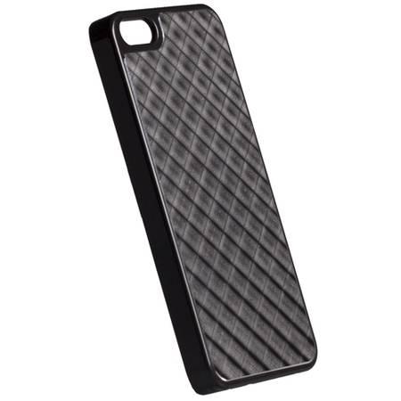 Husa Protectie Spate Krusell 89750 Bioserie Alucover Negru pentru APPLE iPhone 5s, iPhone SE