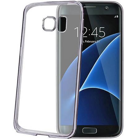 Husa Protectie Spate Celly BCLS7EDS Bumper Negru pentru Samsung Galaxy S7 Edge