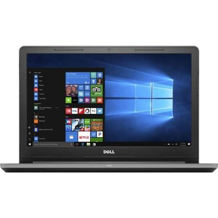 Laptop Dell Vostro 3568 15.6 inch HD Intel Core i3-7100U 4GB DDR4 128GB SSD FPR Windows 10 Pro Gray