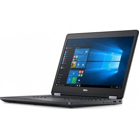 Laptop Dell Latitude E5470 14 inch Full HD Intel Core i7-6820HQ 8GB DDR4 256GB SSD Backlit KB FPR Windows 10 Pro Black