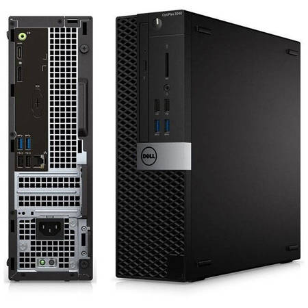Sistem desktop Dell OptiPlex 3040 SFF Intel Core i5-6500 4GB DDR3 500GB HDD Windows 10 Pro Black