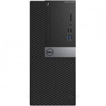 Sistem desktop Dell Optiplex 3040 MT Intel Core i5-6500 4GB DDR3 500GB HDD Windows 10 Pro Black