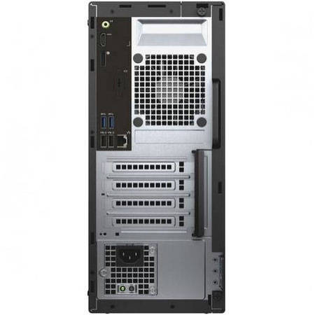 Sistem desktop Dell Optiplex 3040 MT Intel Core i3-6100 4GB DDR3 500GB HDD Windows 10 Pro Black