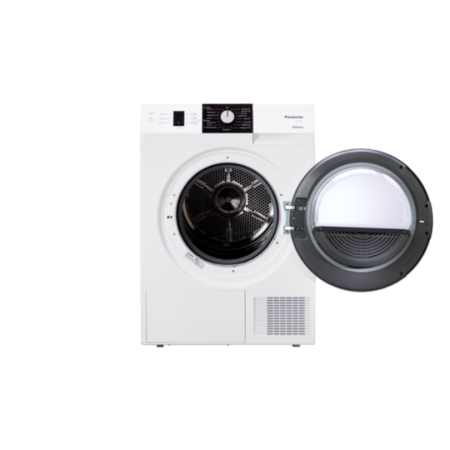 Uscator de rufe Panasonic NH-P8ER1WGN 8kg A+++ Alb