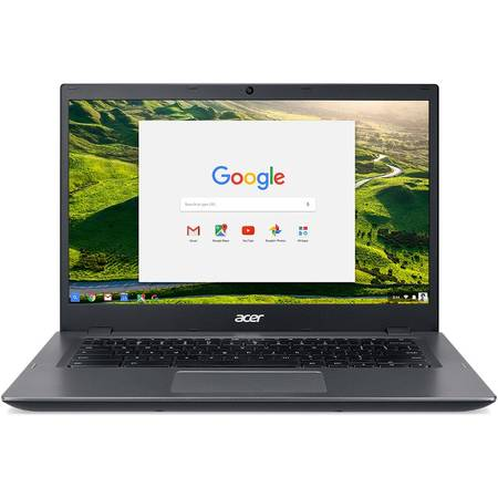 Laptop Acer Chromebook CP5-471 14 inch Full HD Intel Celeron 3855U 4GB DDR3 32GB eMMC Chrome OS Black