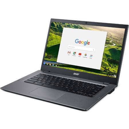 Laptop Acer Chromebook CP5-471 14 inch Full HD Intel Core i3-6100U 8GB DDR3 64GB eMMC Chrome OS Black
