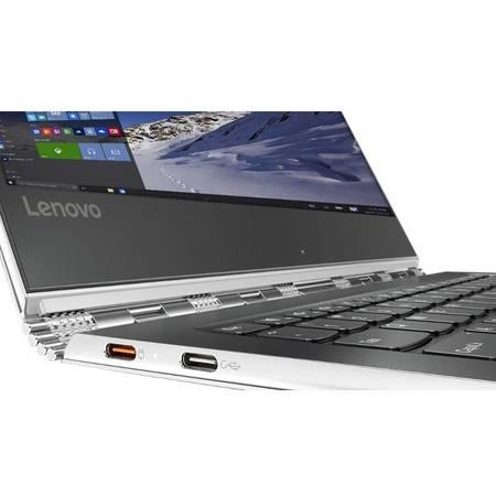Laptop Lenovo Yoga 910-13IKB 13.9 inch Full HD Touch Intel Core i7-7500U 8GB DDR4 512GB SSD Windows 10 Silver