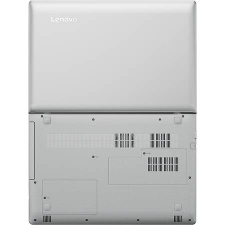 Laptop Lenovo IdeaPad 510-15IKB 15.6 inch Full HD Intel Core i7-7500U 8GB DDR4 1TB HDD nVidia GeForce 940MX 4GB DDR3 Silver