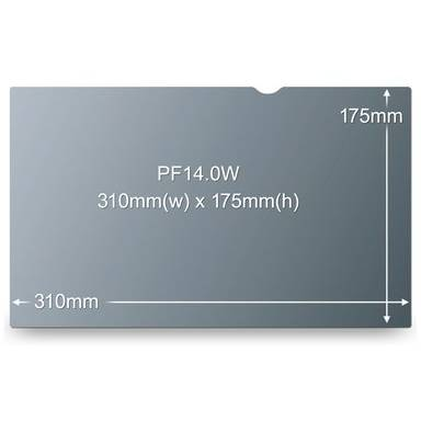 Filtru de confidentialitate 3M PF 14.0W9 14 inch