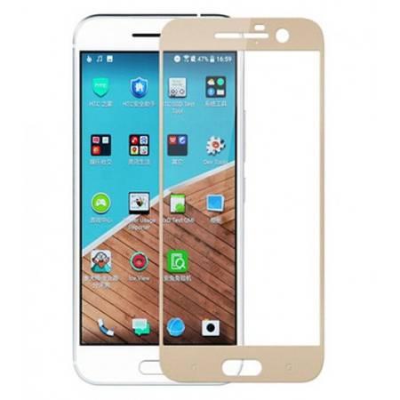 Folie protectie Tempered Glass Folie sticla securizata pentru HTC 10 Gold