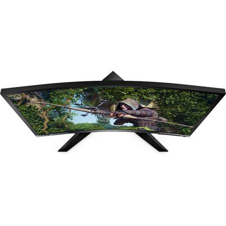 Monitor LED Curbat Gaming Lenovo Y27F 27 inch 4ms Black