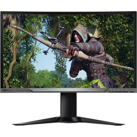 Monitor LED Curbat Gaming Lenovo Y27G 27 inch 4ms Black