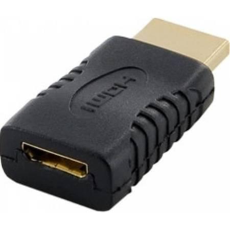 Adaptor 4World mini HDMI tip C Negru