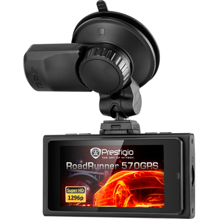 Camera auto Prestigio PCDVRR570GPSB  RoadRunner 570 GPS Black