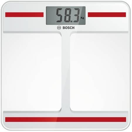 Cantar corporal Bosch PPW4202 AxxenceStepOn 180kg alb