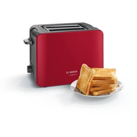 Prajitor de paine Bosch TAT6A114 ComfortLine 1090W rosu