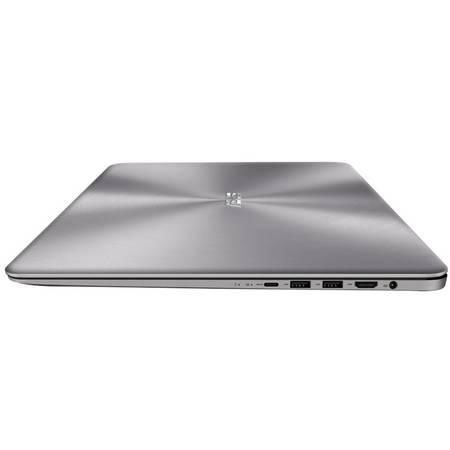 Laptop Asus ZenBook UX510UW-CN045R 15.6 inch Full HD Intel Core i7-7500U 16GB DDR4 1TB HDD 128GB SSD nVidia GeForce GTX 960M 4GB Windows 10 Pro Grey