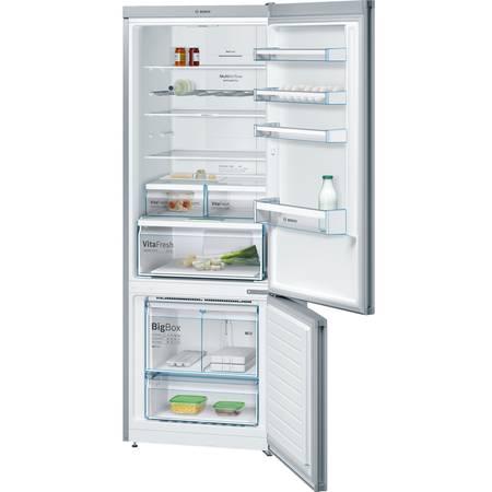 Combina frigorifica Bosch KGN56XL30 505 l No Frost Clasa A++ H 193 Inox