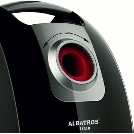 Aspirator Albatros TITAN ECO 1600W, Rosu/ Negru