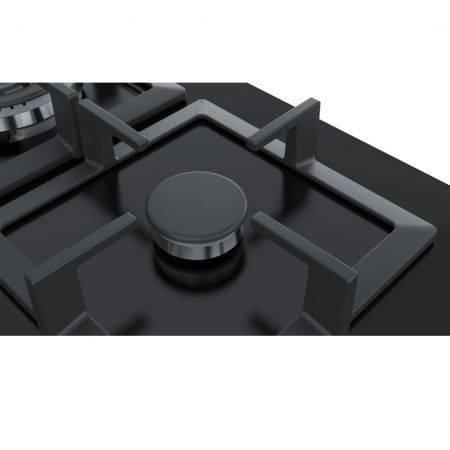Plita incorporabila Bosch PPQ7A6B20 gaz 5 arzatoare Neagra