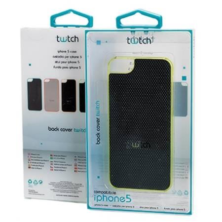 Husa Protectie Spate Twitch MUTWCIP504 Negru pentru APPLE iPhone 5s, iPhone SE