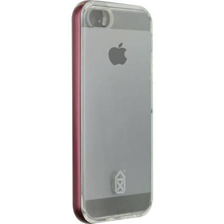 Husa Protectie Spate Case Scenario CS-IPSE-BU02 3 in1 Gri pentru APPLE iPhone SE