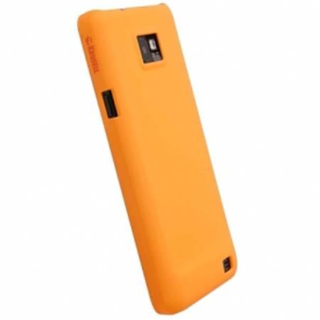 Husa Protectie Spate Krusell 49738Q COLOR COVER Portocaliu pentru Samsung Galaxy S3 Mini