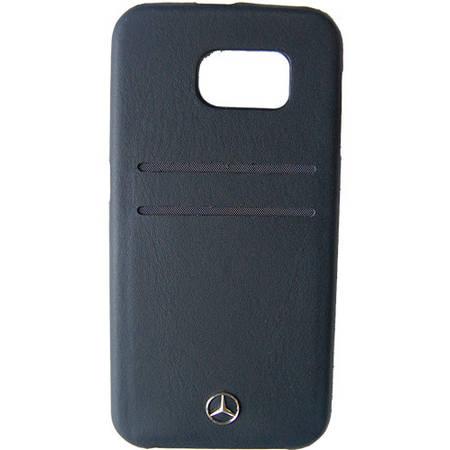 Husa Protectie Spate Mercedes MEHCS6PLBK Pure Line Card Slots Negru pentru SAMSUNG Galaxy S6