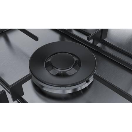 Plita Bosch PCQ7A5B80 5 arzatoare gaz FlameSelect Inox