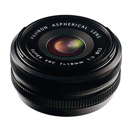 Obiectiv Fujifilm Fujinon XF 18mm f/2 R montura Fuji X