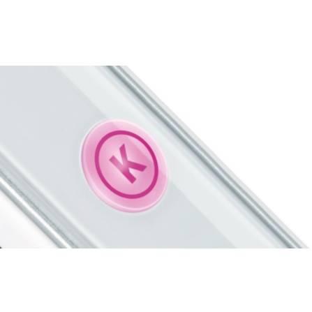Placa de indreptat parul Bosch PHS5987 BrilliantCare Keratin Advance 200 grade alba