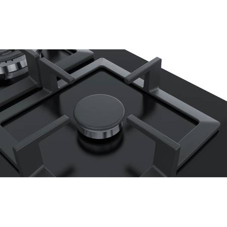 Plita incorporabila Bosch PPP6A6B20 gaz 4 arzatoare Neagra